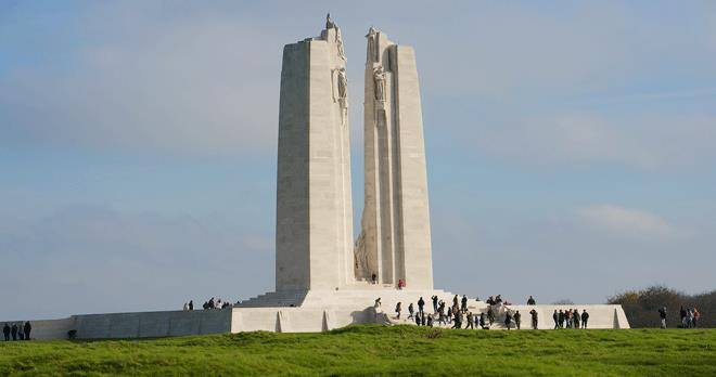 VIMY RIDGE ESCORTED GROUP TOUR