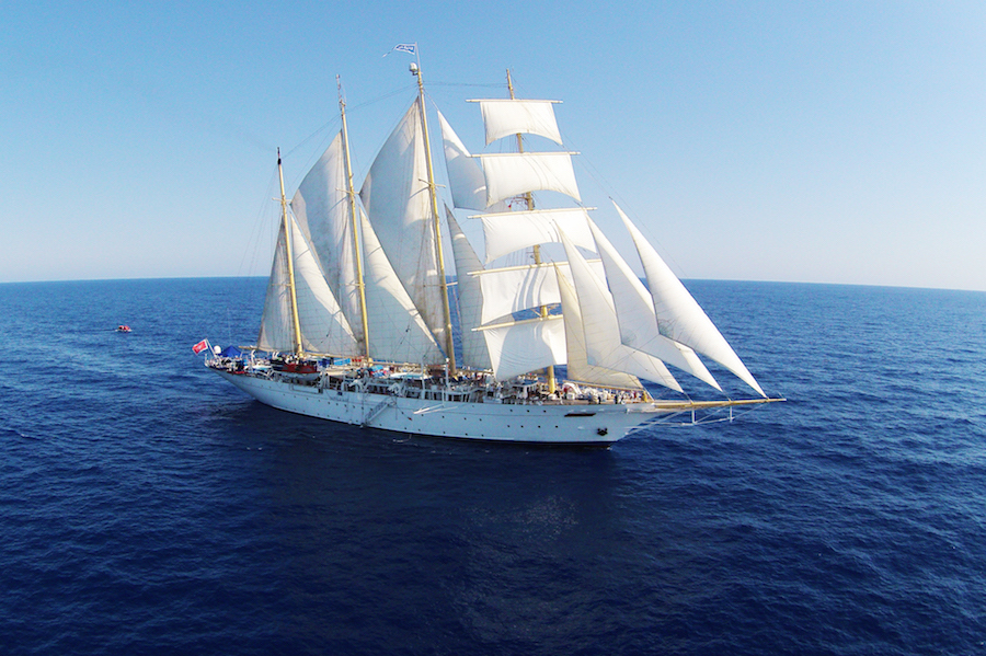 THE FRENCH RIVIERA & THE ISLAND OF CORSICA ON A TALL SHIP